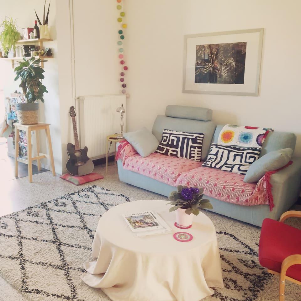 Salon + Canapé-sofa