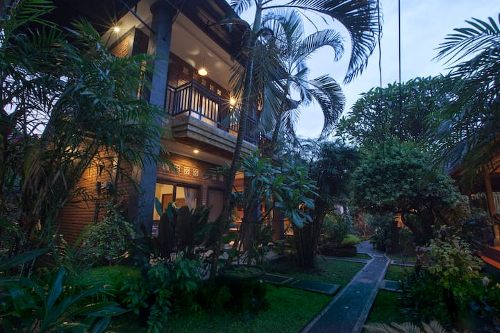 Oasis in the middle of Ubud hustle bustle