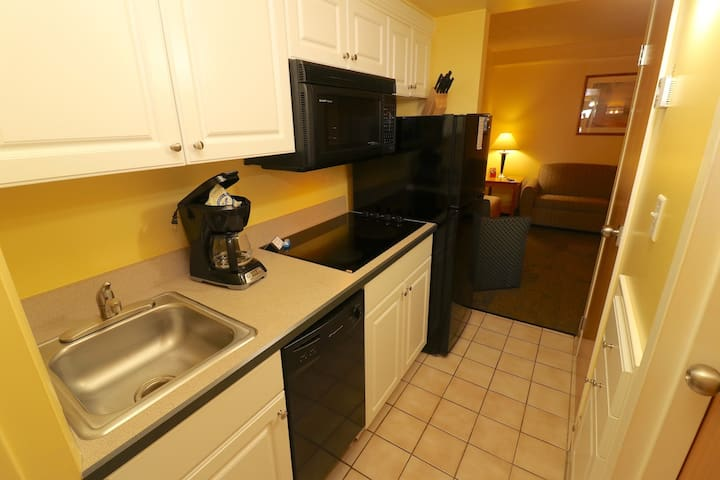 Kitchen of the One Bedroom Suite