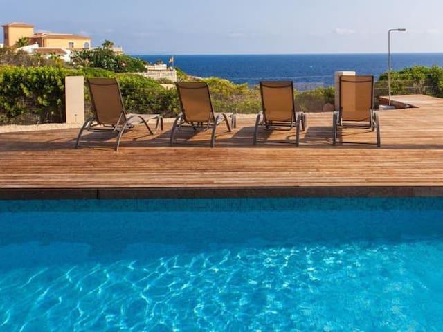 Sa Cova Blanca - Villa with stunning sea views and private pool in Cala Pi