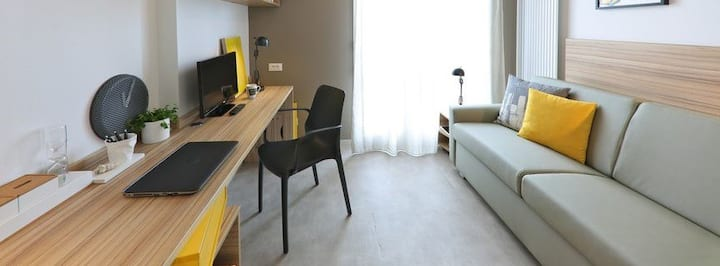 Welcoming Studio near City Center and CHU