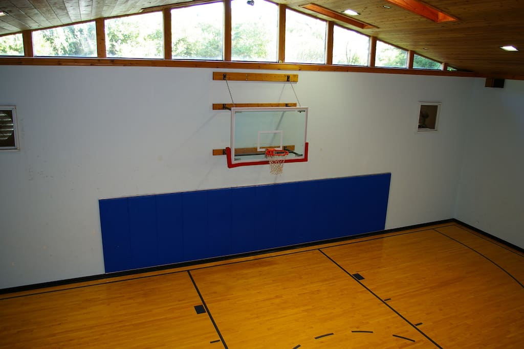 Heated Inside Basketball Ct