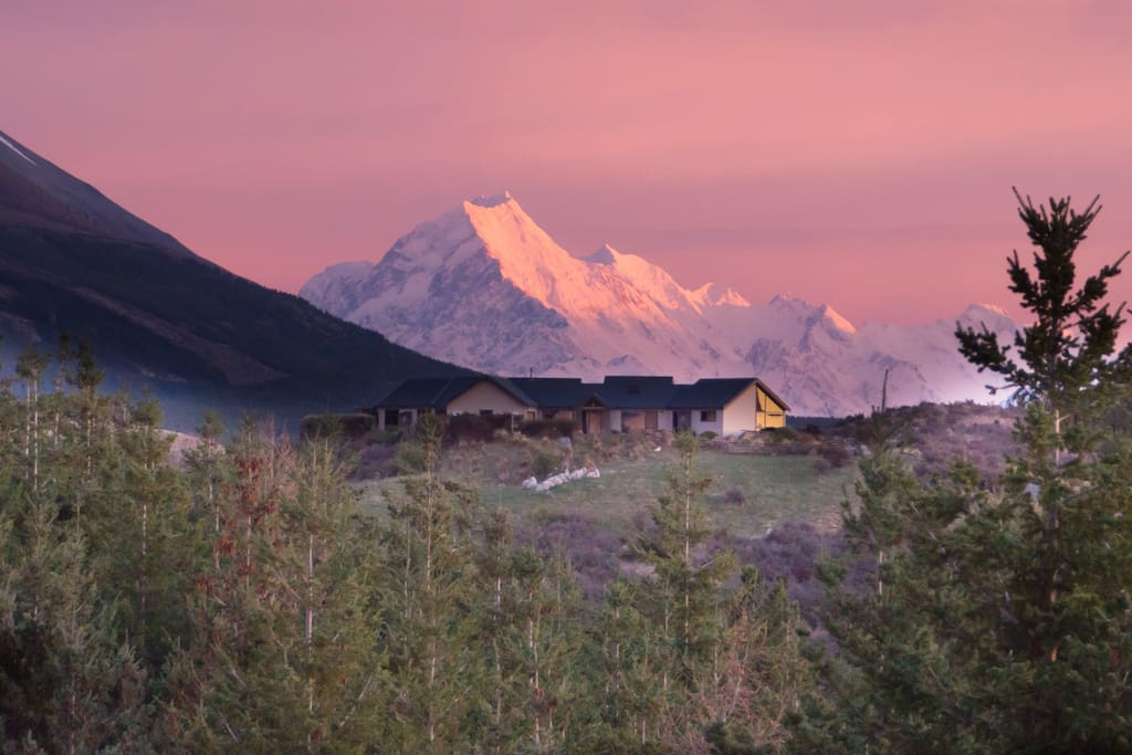 Situated by the Magnificent Lake Pukaki and Mt Cook