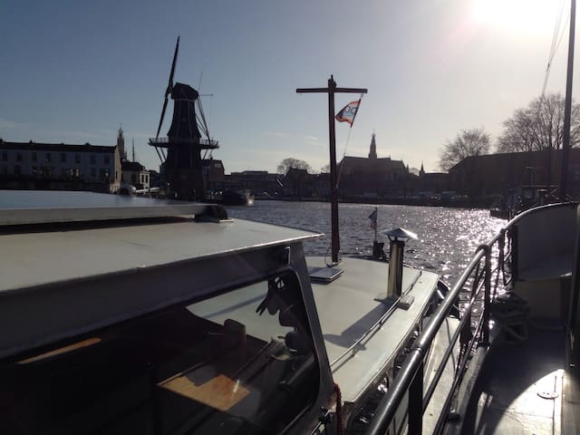Cosy boat in centre of Haarlem! - Haarlem - Barco