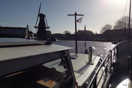 Cosy boat in centre of Haarlem! - Haarlem - Boot