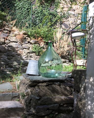 Adorable maison en rez de jardin
