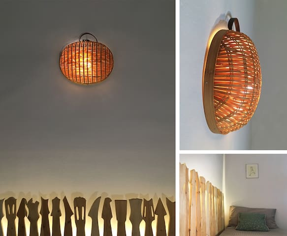 Custom made lamps for perfect ambiance