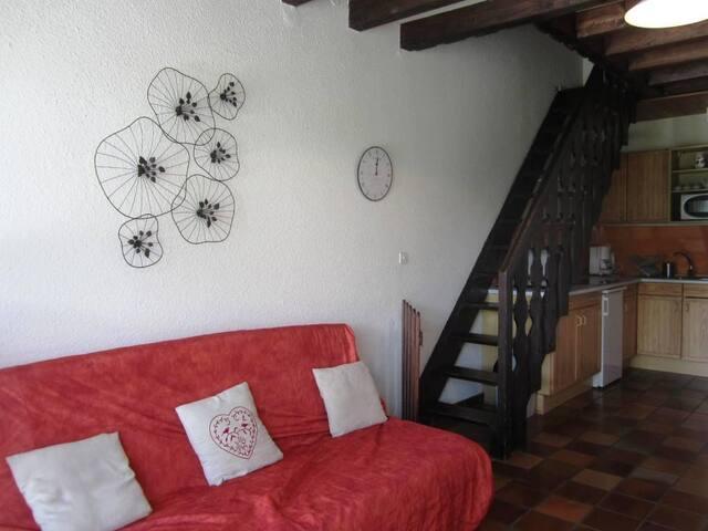 Maison mitoyenne 2 chambres au coeur de Villard de Lans