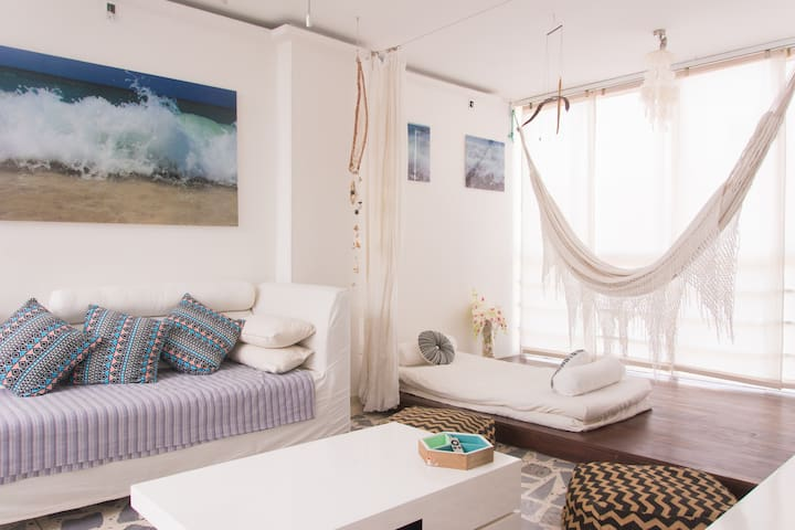 Cozy and Relaxed Caribbean Style Apt - Barranquilla
