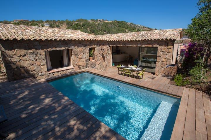 Villa l'olivier avec piscine Porra-Palombaggia