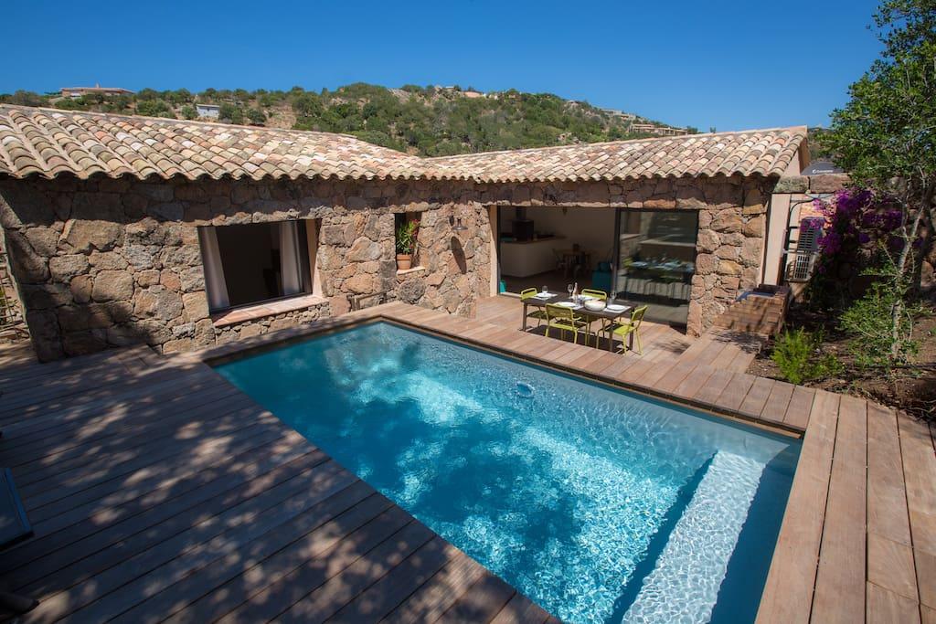 Villa LOlivier Avec Piscine PorraPalombaggia  Maisons  Louer