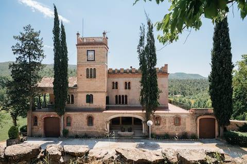 La Vila d'Argençola majestic in Catalonia's heart.