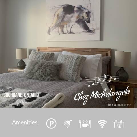 Chez Michelangelo Bed & Breakfast - Ganuk Room