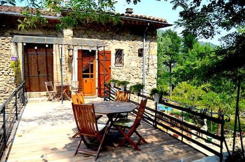 L'Appartement in Mas Mialou in Saint-Jean-du-Gard