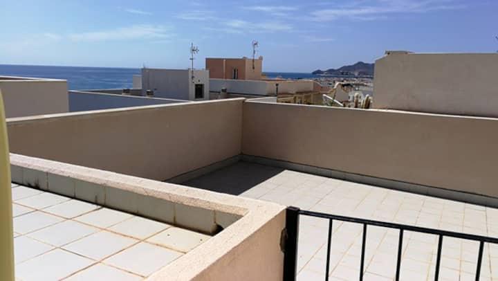 Ático con gran terraza privada y barbacoa