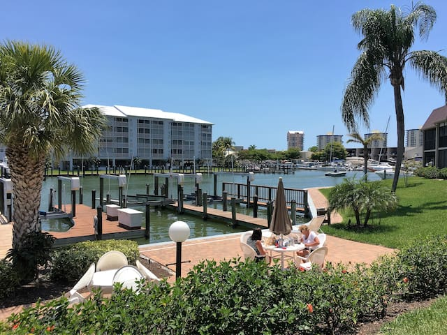 Estero Island Yacht and Racquet 326 Water front