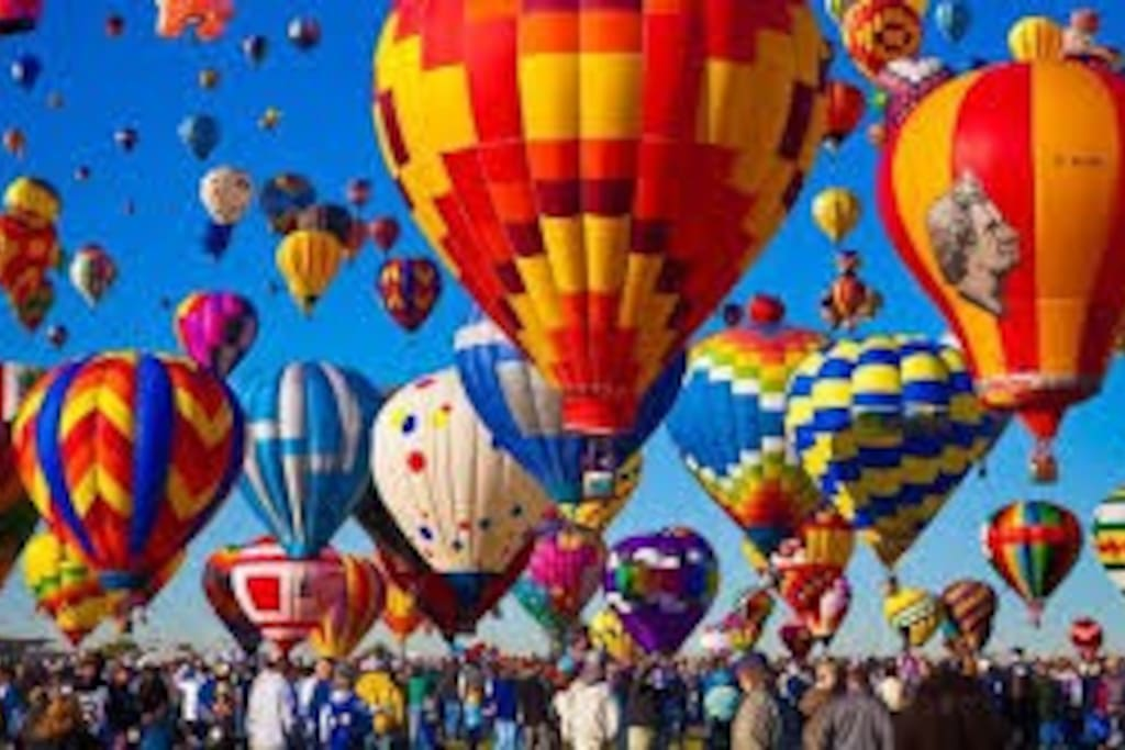Oct1-9 Alb.Intntl Balloon Fiesta Biggest in the world