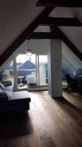 Top floor suite in center of Haugesund