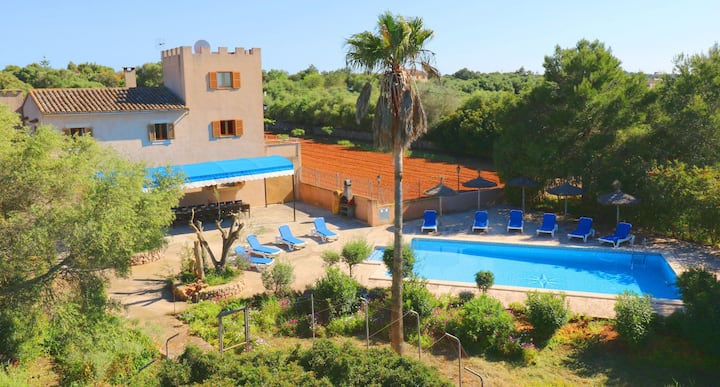 Can Palea, free Wifi, private pool