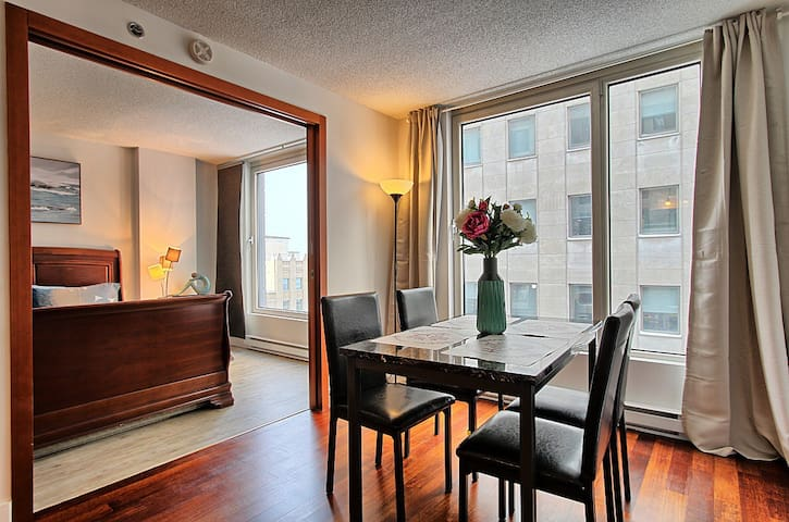Cozy Condo,Montreal Downtown,Old Port,Chinatown