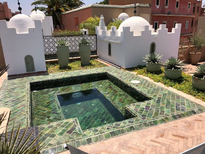 Riad Les Terrasses de Salam avec petite piscine