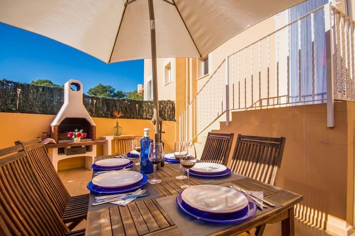 Eulalia-Wifi, Klimaanlage, strandnah, Barbecueecke - Santa Margalida - Apartment