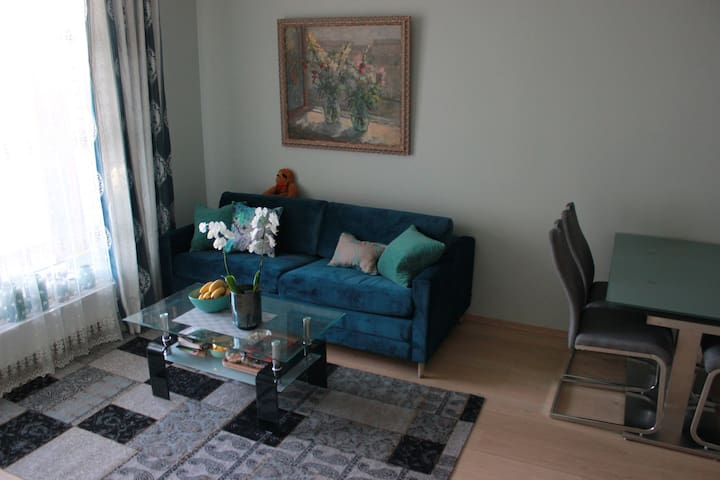 Sentral og moderne leilighet i Lillestrøm