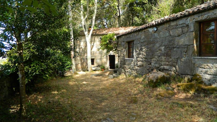 A Casiña - Casitas con jardin de ensueño - Carnota - House