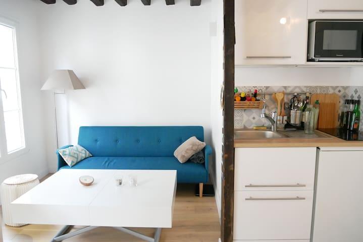 Beautiful modern apartment near Châtelet