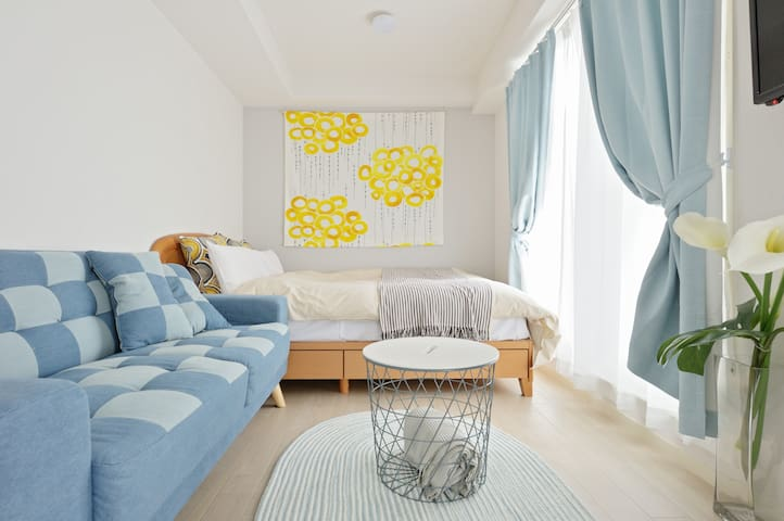 Cozy apartment near Osaka Aquarium, USJ, WIFI 6-A