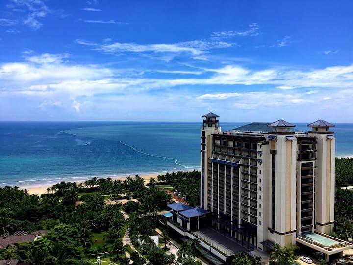 博鳌朴宿 17楼(亚洲湾旁/亚洲论坛/玉带滩/一线海景/观海大阳台)