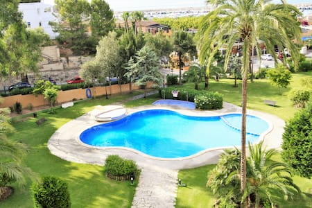 Two Bedroom Apartment with Pool and Sea Views - Portals Nous