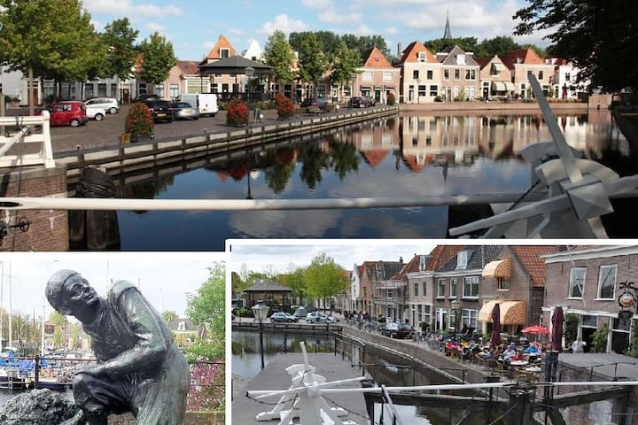 A - MUST DO - cycle trip at 9.3 km from the Cottage, is the friendly old village of SPAARNDAM. One of the oldest and most beautiful protected village scenes in the Netherlands. Have a drink at the old Café (since 1572) with terrace and  romantic view