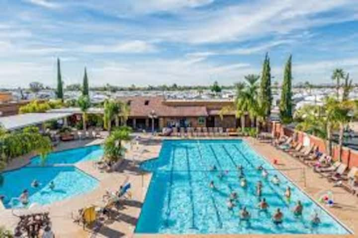 Mesa Regal 55+ RV Resort - 1 Bedroom + 1  A.R.