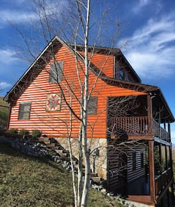 River Country - Amazing Blue Ridge Mountain Views - Piney Creek - Hus
