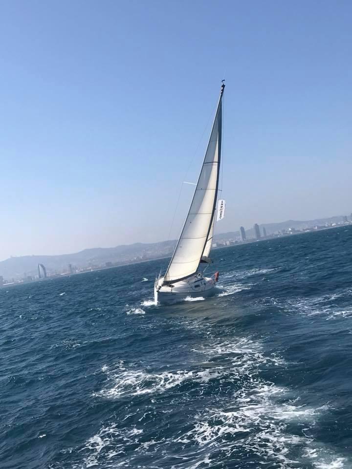 Safe and comfortable Sailboat