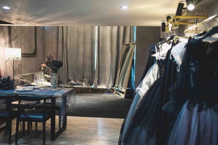 【DreamBlackSwanLoft】梦境黑天鹅阁楼|暗黑系·黑灰婚纱·晚礼服·jk系·男西装