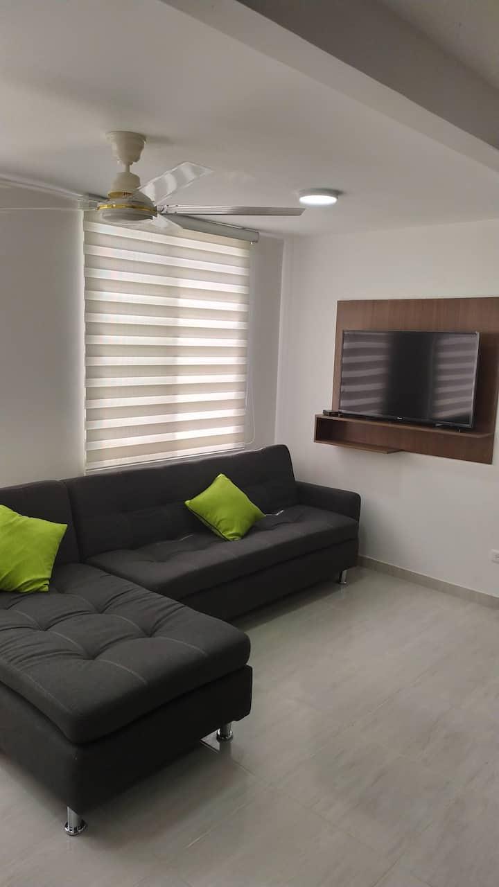Apartamento nuevo con wifi excelente ubicación