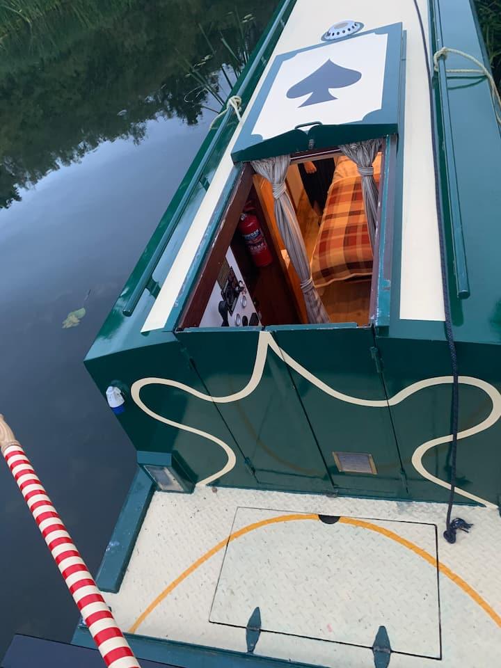 Narrow Boat Hire river Nene self charter gift
