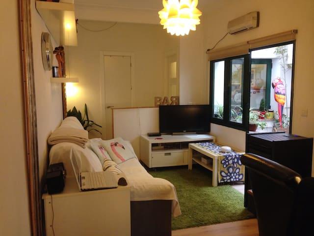 Agradable apartamento en el centro con parking - Cáceres - Byt