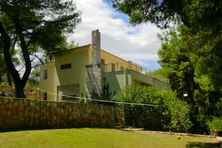 Afidnes, modern studio,  in forest area of Athens