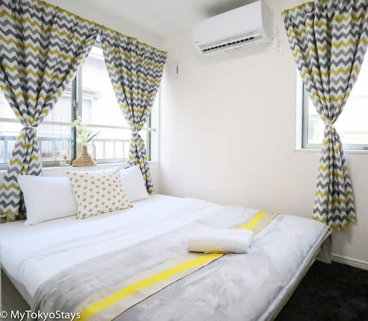 Skytree Easy Access Studio Apt Bell Flat Inn #3