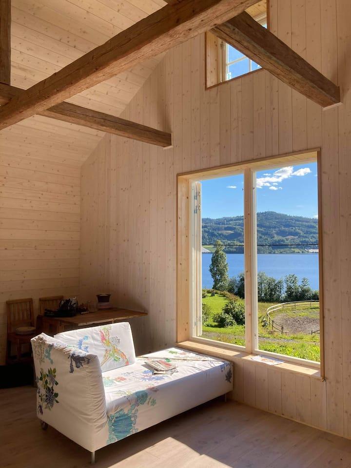Studioleilighet ved Norefjell – panoramautsikt!