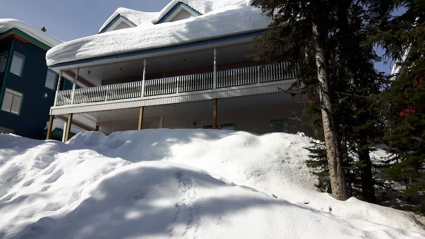 South of Sixty - 2 Bedroom, Private Hot Tub & BBQ - Silver Star Mountain - Byt