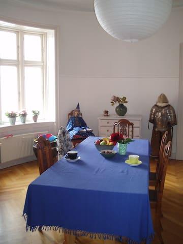 Gammeldags lejlighed på Torvet - Svendborg - Apartemen