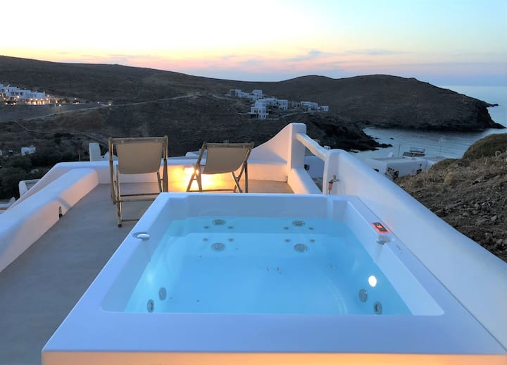 Marquise Sea View Residence with Jacuzzi Mykonos