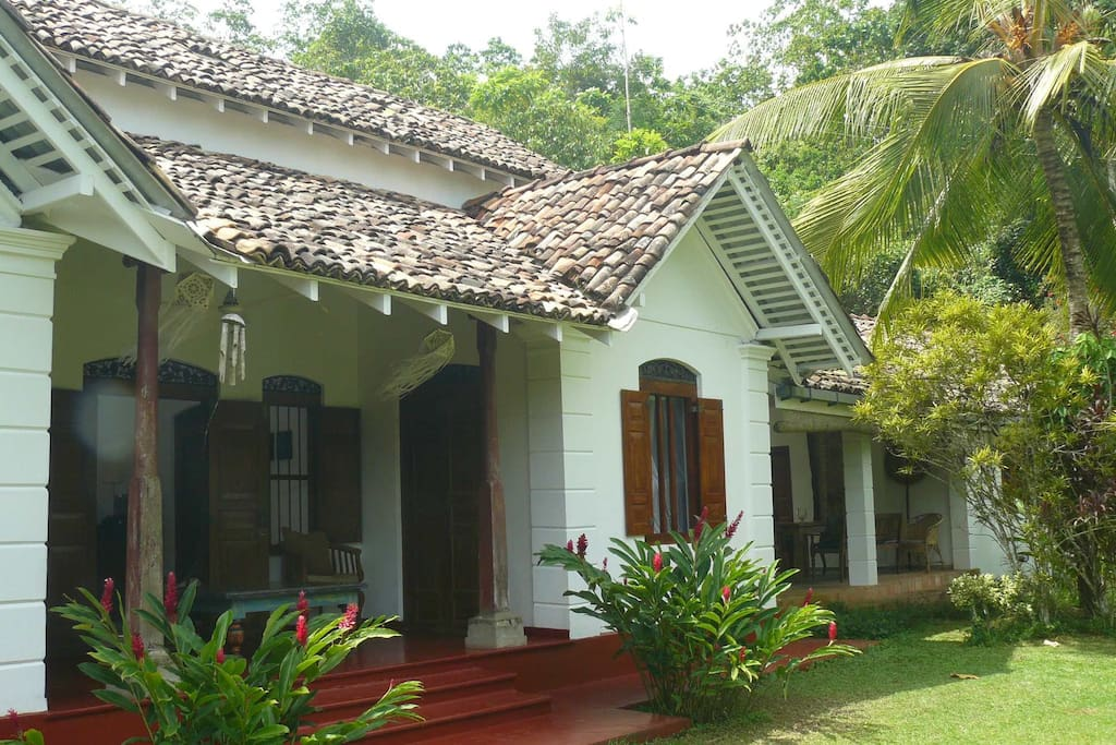 Colonial style holiday villa villas for rent in galle southern province s - Villa style colonial ...