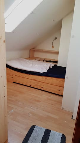 Kleines Zimmer nahe der Innenstadt