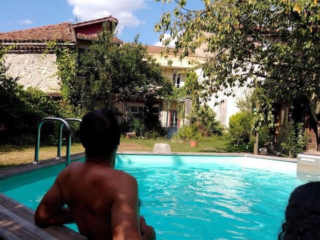 Chambres d'hôtes avec piscine à St-Girons