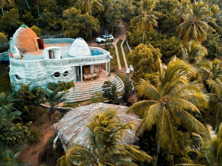 Quarto compartilhado na Vila Flor Ecohostel